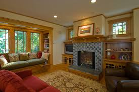 Arts And Craft Bookcase Wall Units Amazing Craftsman Style Built In Bookcases Craftsman