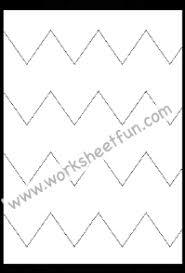 line pattern worksheet tracing line tracing preschool free printable worksheets