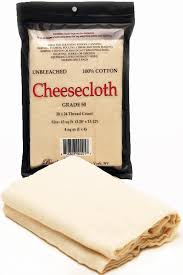 amazon com basiloff cheesecloth 4 8 sq yds natural chef grade