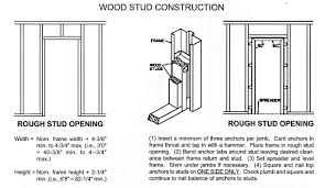 Window Framing Diagram by Steelcraft Commercial Hollow Metal Doors And Frames