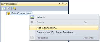 how to connect to and diagram your sql express database in visual
