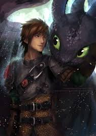 hiccup toothless duo animated business