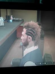 for whatever reason my hair is completely fucked gta