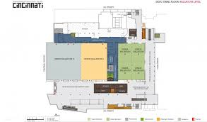 Exhibit Floor Plan Floor Plans Plan Your Event The Duke Energy Center