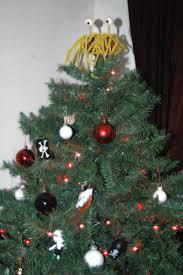 festive decorations church of the flying spaghetti