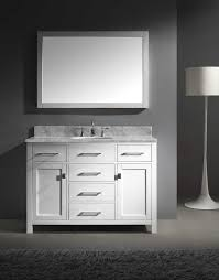 48 White Bathroom Vanity Acclaim 48