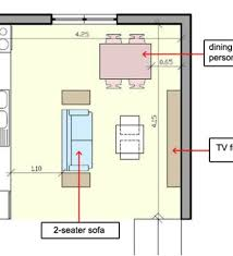 How To Place Furniture In A Bedroom by Small Open Plan Kitchen Living Room Layout 20 Best Small Open Plan