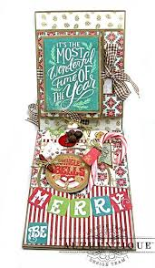 jingle all the way christmas card folio tutorial kathy by design