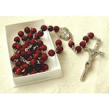 rosary from the vatican pio scented rosary