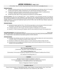 Environmental Engineer Resume Process Engineer Resume Berathen Com
