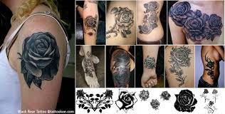 black rose tattoo designs and meaning tattoo designs