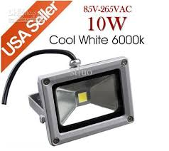 Outdoor Led Flood Lights by 4x 10w 85 265v Cool White Outdoor Flood Light Led Floodlight