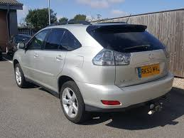 lexus rx hybrid for sale uk lexus rx 3 0 300 se l 5dr automatic for sale in southport