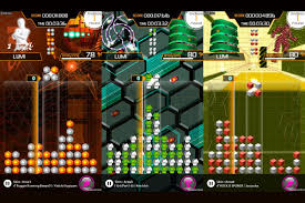 lumines u0027 new rez add on is block matching made in heaven the verge