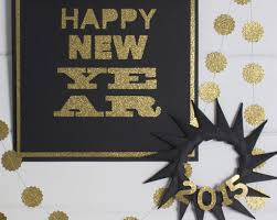 New Year S Homemade Decorations by