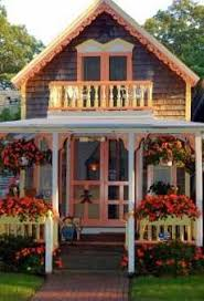 Small Cottage Plans With Porches Two Story Cottage With Balcony For The Home Pinterest