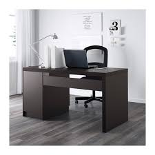 Computer Desk And Hutch Malm Desk Black Brown Ikea