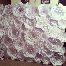 how to make flower wall home