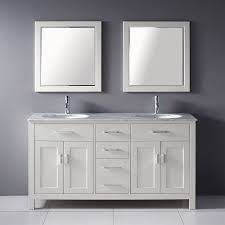 shop spa bathe kenzie white undermount double sink bathroom vanity
