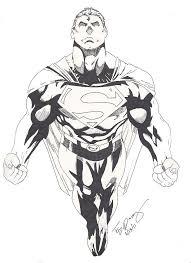 superman drawing felipe robles