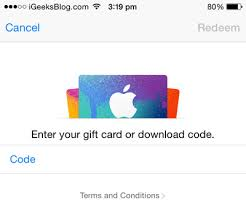 get an itunes gift card how to redeem itunes gift card in ios 9 on iphone
