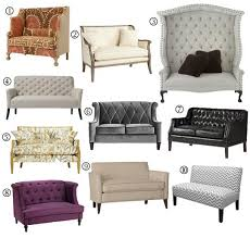 apartment sofas and loveseats small space sofa alternatives 10 settees loveseats