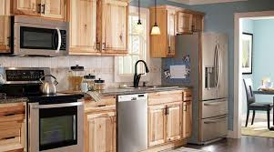 kitchen with stainless steel appliances kitchen with stainless steel appliances and hickory cabinets a