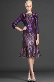purple dresses for weddings knee length knee length of the dress 2015 lace purple