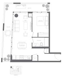 floorplans for 1 bedroom condominium loft suites kingsway by the