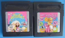 barbie nintendo boy color video games ebay