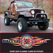 jeep scrambler 4 door 1982 jeep cj8 scrambler motoexotica classic car sales