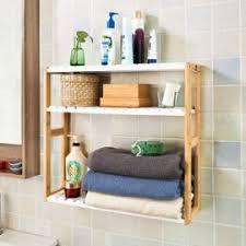 cuisine rangement bain frg28 wn etagère murale meuble de rangement pour salle de bain