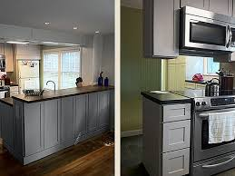 clique studios kitchen cabinets shaker painted urban stone cabis maine kitchen remodel clique