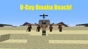 Maps Omaha Minecraft D Day Omaha Beach Map Showcase W Flans Mod Youtube