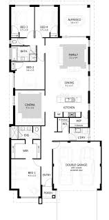 Townhouse Design Plans by Narrow Lot Single Storey Homes Perth Cottage Home Designs