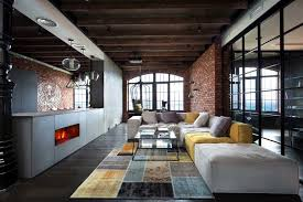 industrial loft industrial style loft in kiev artfully blends drama and light