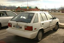 subaru hatchback 1980 1985 1994 hyundai excel the car that launched a thousand ships