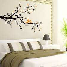 Modern Wall Stickers For Living Room Aliexpress Com Buy Black Tree Twigs Branch Birds Stickers