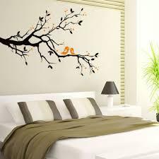 Twig Home Decor Aliexpress Com Buy Black Tree Twigs Branch Birds Stickers