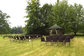 outdoor wedding inspiration at silchester house in berkshire
