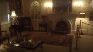 3 u2013 the living room features the original white house fireplace a