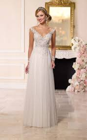 need help finding blush or non white long sleeved wedding dress
