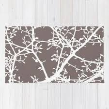 Modern Nature Rugs Maple Tree Branches Area Rug Modern Nature Area Rug Fall Tree