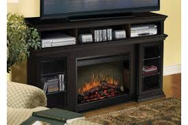 Electric Fireplace Heater Tv Stand by Furniture Wooden Tv Stand With Book Case And Media Rack Plus