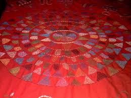 nakshi kantha nakshi kantha decorative stitched quilt buy quilt craft