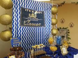 royal prince babyshower desert table prince theme royal