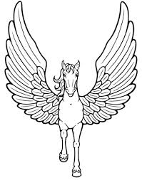Print Download Unicorn Coloring Pages For Children Unicorn Coloring