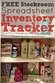 How To Make A Spreadsheet For Inventory The 3 Reasons You Need A Home Supply Closet And A Free Home Supply