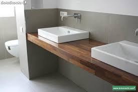 encimeras madera iroko ba祓os cocinas mesas