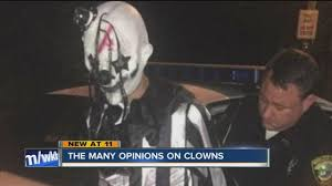 clowns ny viral scary clown photo not from buffalo wkbw buffalo ny